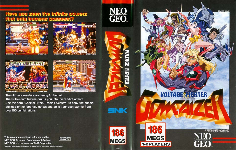 Voltage Fighter Gowcaizer Neo Geo Neo-voltage-fighter-gowcaizer
